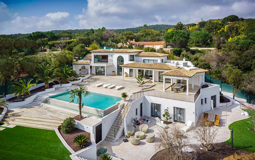 For Sale Luxury Villa With Glorious View Of Saint Tropez